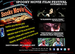 Spooky Movie Film Festival
